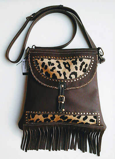 Cartera Cuca Exclusiva Pelo Animal Print